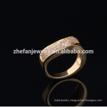 2018 fashion 24 carat gold ring with cheapest price