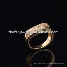 2018 moda anel de ouro de 24 quilates com preço mais barato