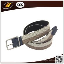 Gemischte Farbe Stoff geflochtene elastische Gürtel