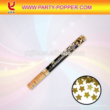 New product party poppers with shiny confetti canon