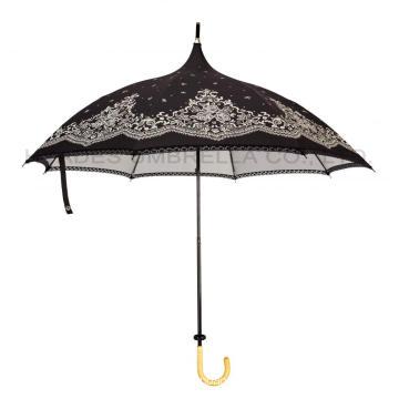 Women's Vintage Lace Pagoda Umbrella Parasol