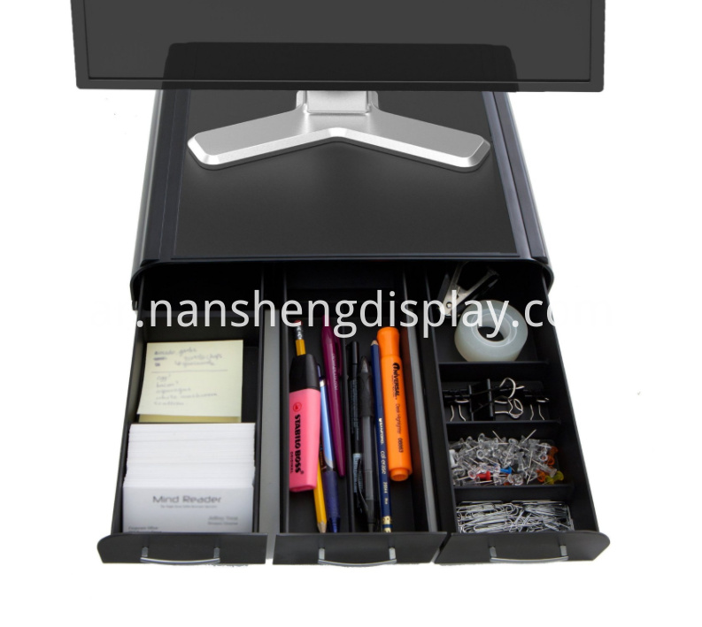 Pc Laptop Computer Monitor Stand Desk Organizer