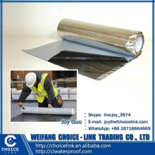 for roof self adhesive bitumen waterproof roll