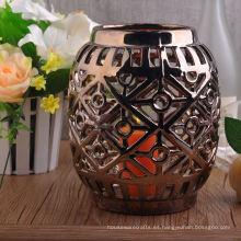 Manga de vela de cerámica electrochapada