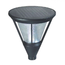 12W Black IP65 Solar Garden Lamp Holder
