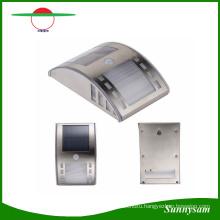 Stainless Steel Solar Garden Light with PIR Body Sensor