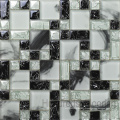 Треснувшая мозаика, Мозаичная настенная плитка, Мозаика из кристаллического стекла (HGM282)