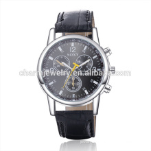 New Arrival Fashion Quartz Leather Casual Wrist Watch SOXY020