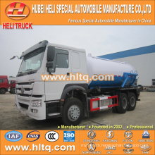 SINOTRUK HOWO 6x4 16000L vacuum sewer suction truck WD615.69 336hp