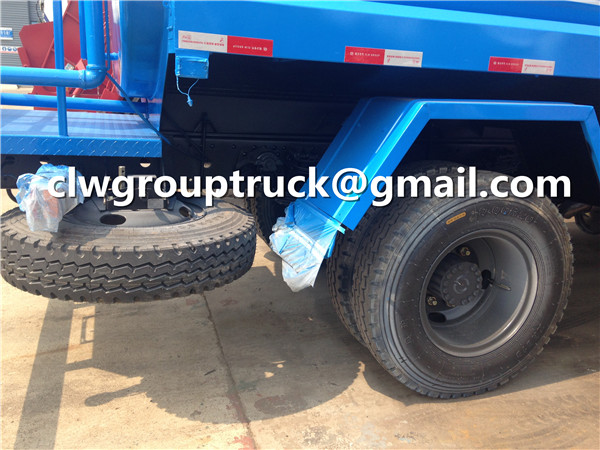Tire and Spare One of Water Tank Truck