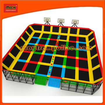 Outdoor Rectangular Mini Trampolines for Sale