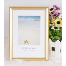 Plastic Hot Stamping Photo Frame /Photo Frame/Picture Frame/Wooden Grain Frame (M-BD)
