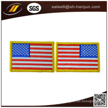 Factory OEM Sewing on Clothing Fabric Patch