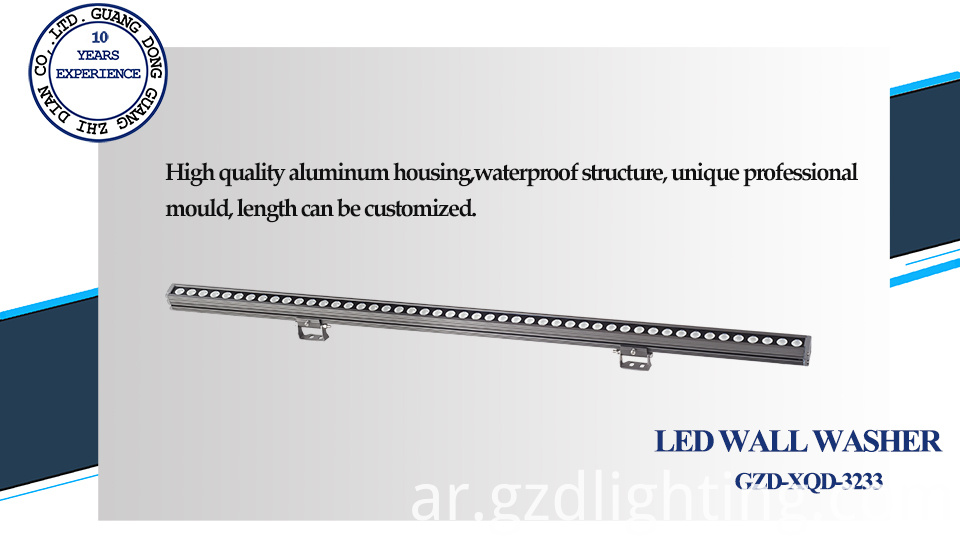 led linear washer