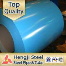 Bobina de acero galvanizado PPGI / hoja de material corrugado