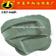 Зеленый порошок полировочный черный карбид кремния абразивы