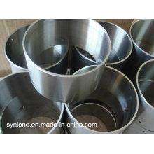 Tubo de aço inoxidável com usinagem CNC