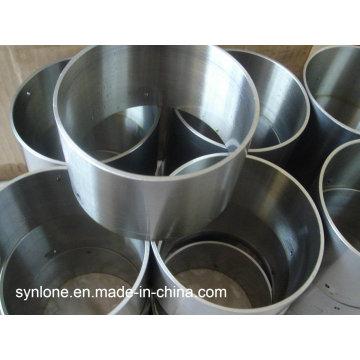 Tubo de acero inoxidable con mecanizado CNC