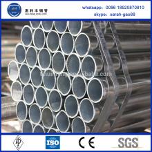Poids du tube galvanisé ASTM A179 de haute qualité par mètre