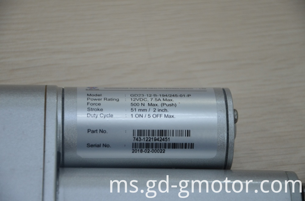12v Dc Linear Actuator