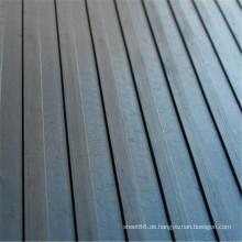 Qualitäts-breiter gerippter Antibeleg-Gummiblatt-Gummibodenbelag