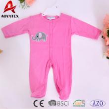 Супер милый мультфильм 100% хлопок простой дизайн младенцы одежда детские комбинезоны