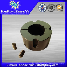 Casquillo de bloqueo cónico con material GG22-25 de hierro fundido y acero C45
