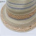 cheap promotional raffia & paper straw hat custom summer outdoor panama  popular  handwork sunhat