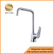 Brass Single Lever Deck Mount Kitchen Tap (AOM-2104)