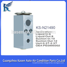 auto part aluminium ac expansion valve