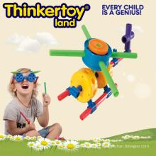 Plástico mini brinquedo plano do jardim