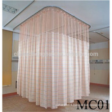 Antibacterial hospital curtain colored hospital disposable curtain