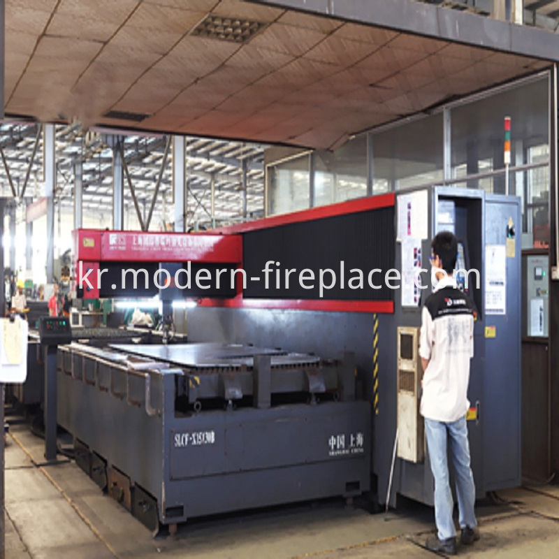 Steel Plate Fire Stove BDW204-2500G