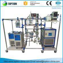 TWF125-10 Professinal short path distillation equipment for essential oil separation