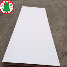 White Color Melamine MDF With Two Sides
