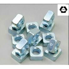 DIN557 Écrou carré en acier allié en zinc