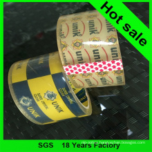 Supper Clear BOPP Adhesive Packing Tape for Carton Sealing