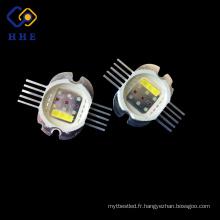 La puissance élevée de la puissance LED multi de 30W 590nm a intégré avec RGBWA cinq dans un mené