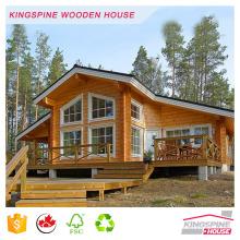 Casa prefabricada de cabina de madera con alta calidad de KINGSPINE