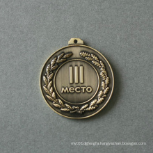 Custom Medal with Antique Copper Plated (GZHY-MB-007)