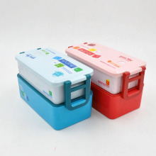 PP storage box, storage box with lid, plastic storage box
