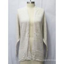 Мануфактура с длинным рукавом Джемпер из трикотажного свитера для женщин