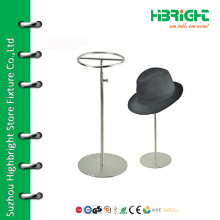 Counter adjustable hat display stand