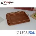 Kupfer Farbe Bratpfanne Luft Mini Friteuse Korb Friteuse