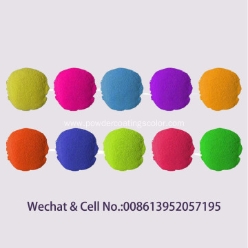 Electrostatic Thermosetting Spray Epoxy Polyester Powder Coating