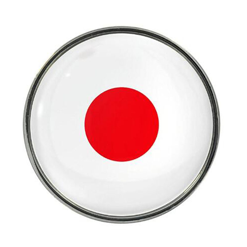 Popular Fashion National Flag Japan Lapel Pin
