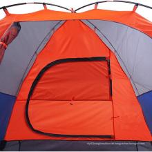 Luxuxim freien 4 Leute-Berg, der doppeltes wasserdichtes Zelt kampiert