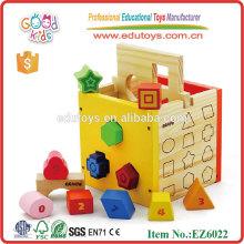 Boîte en forme de jouets éducatifs