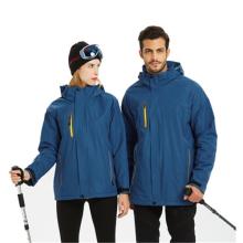 Зимняя теплая водонепроницаемая печать снег лыжная куртка