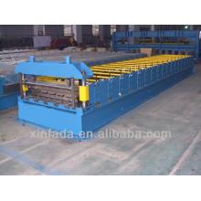 Floor decking machine